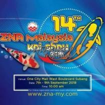 14th ZNA Malaysia Koi Show 2018