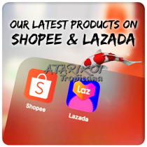 We are now officially on Shopee & Lazada