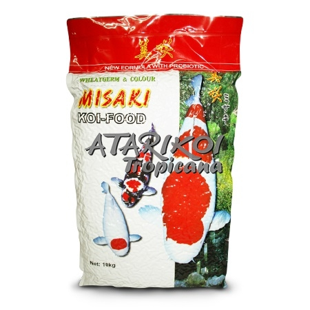 Misaki Fish Food Colour Wheat Germ